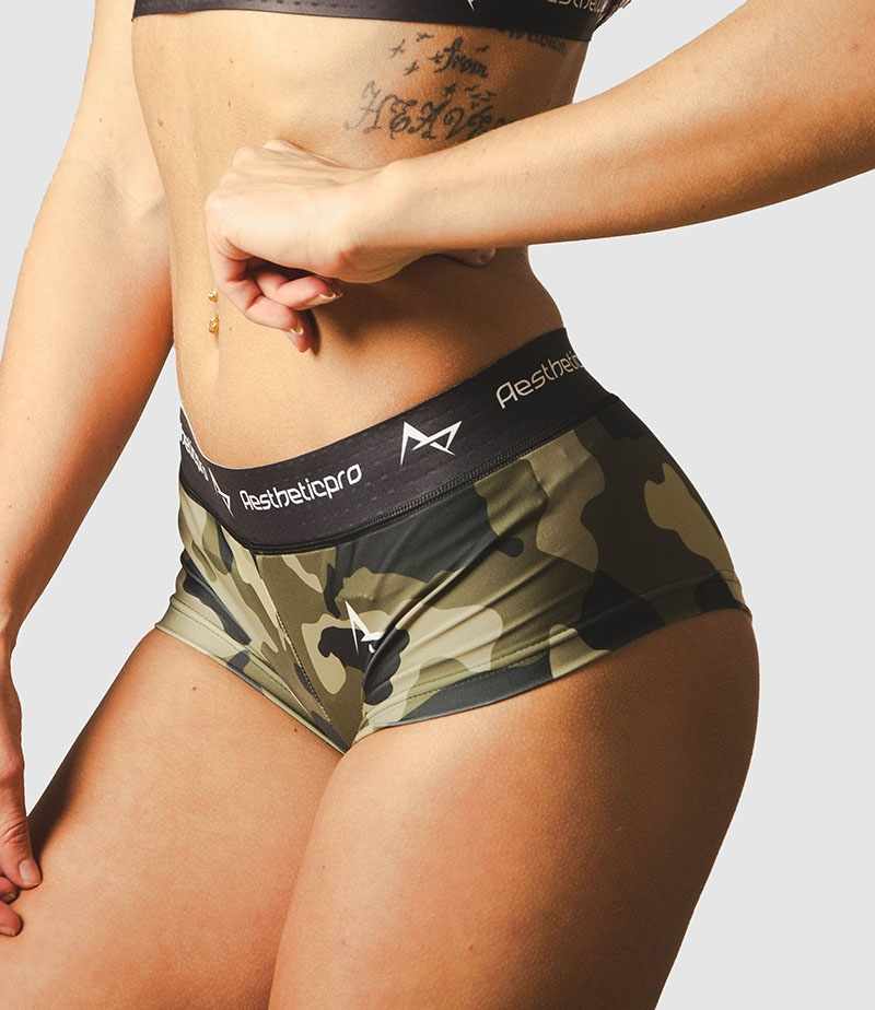 3be5cfd2743 Aestheticpro sports mini shorts Combat